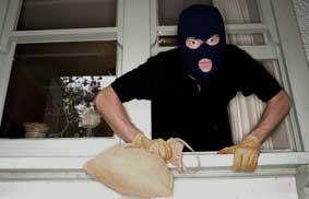 Intruder Breaking In