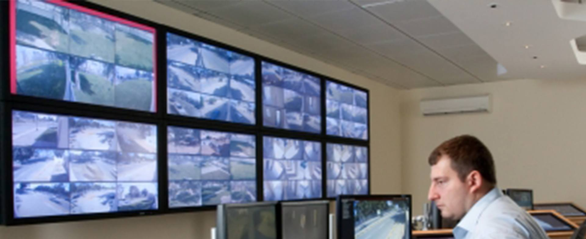Digital Security Guard video wall 2